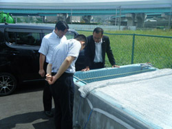 福岡県工業技術センター様が、見学にいらっしゃいました。
