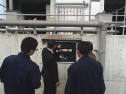 沖縄県産業廃棄物処理共同組合様が、見学にいらっしゃいました。