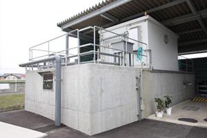 膜分離活性汚泥方式排水処理施設