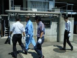 九州大学の大学院工学研究院、学術研究・産学官連携本部、グローバルイノベーションセンターご一行様が、見学にいらっしゃいました。