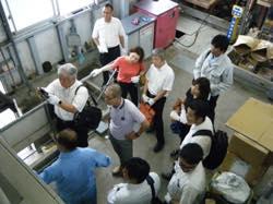 (公社)福岡県産業資源循環協会福岡支部ご一行様が、見学にいらっしゃいました。